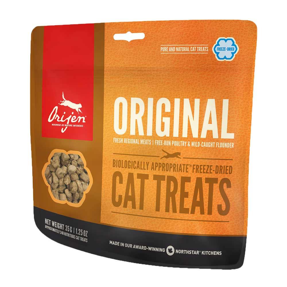 30 x 35 g | Orijen | Treat Original Cat Freeze Dried | Snack | Katze