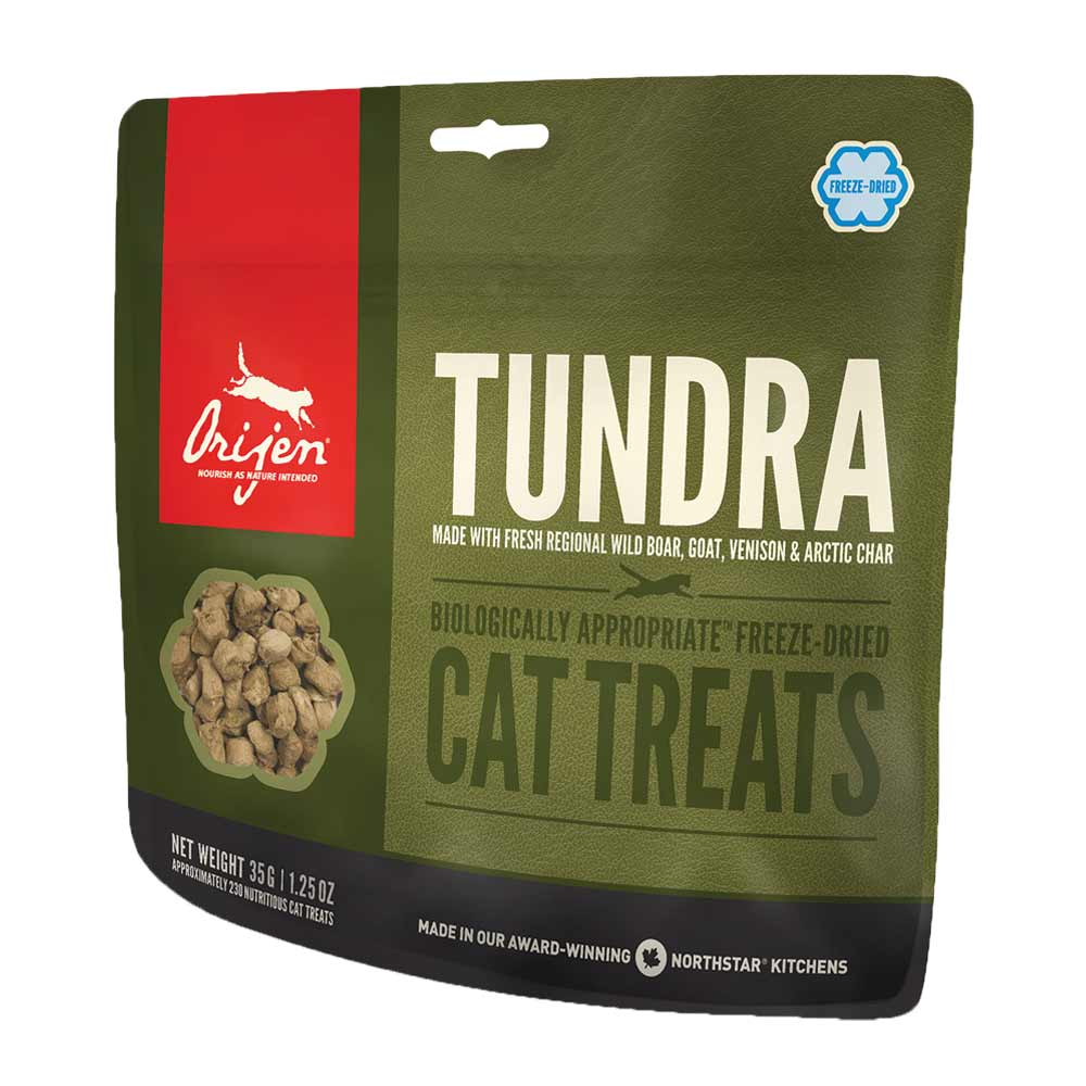 35 g | Orijen | Treat Tundra Cat | Snack | Katze