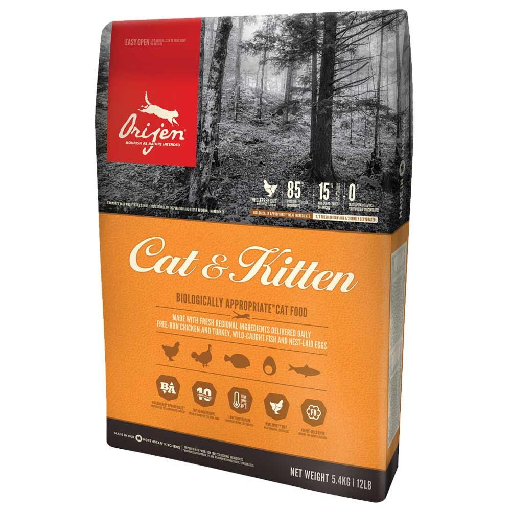 24 x 340 g | Orijen | Kitten Cat | Trockenfutter | Katze