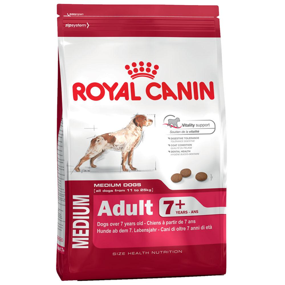 4 kg | Size Medium Adult 7+ | Royal Canin