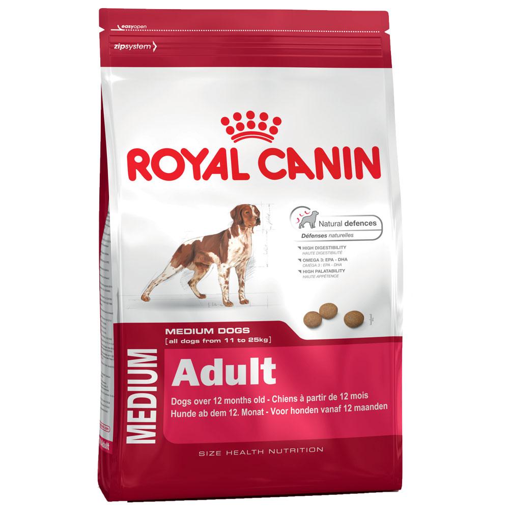 4 kg   Size Medium Adult   Royal Canin