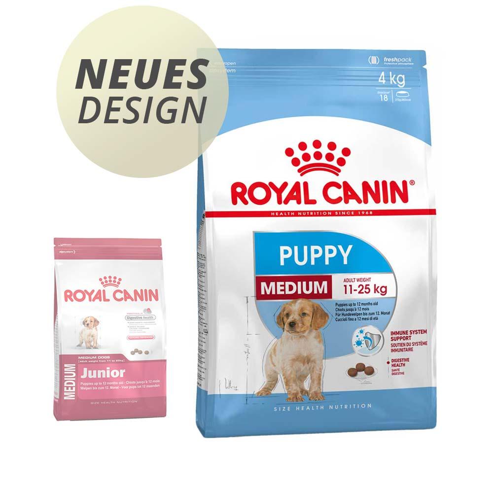 4 kg | Size Medium Puppy | Royal Canin