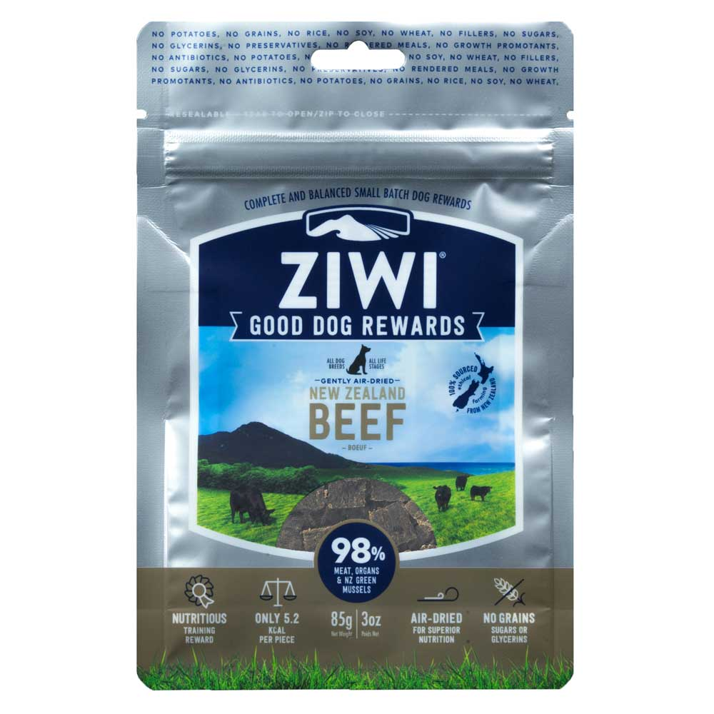 ZiwiPeak - Kausnack - Good Dog Treats Beef 85g (getreidefrei)