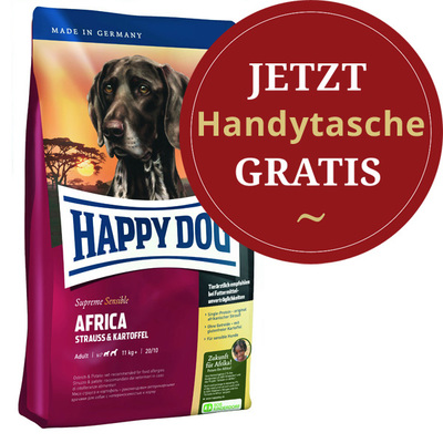 Happy Dog - Trockenfutter - Supreme Sensible Africa 4kg (getreidefrei) HDHA3547