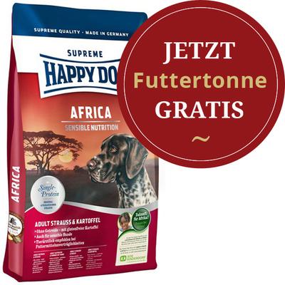 Happy Dog - Trockenfutter - Supreme Sensible Africa 12,5kg (getreidefrei) HDHA3548