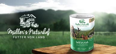 Müllers Naturhof Nassfutter Hund