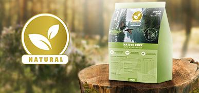 Natural Trockenfutter Hund