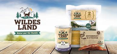 Wildes Land Hundefutter