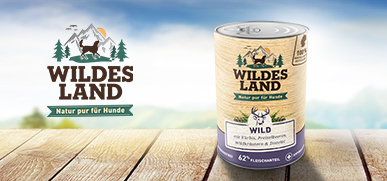 Wildes Land Nassfutter Hund