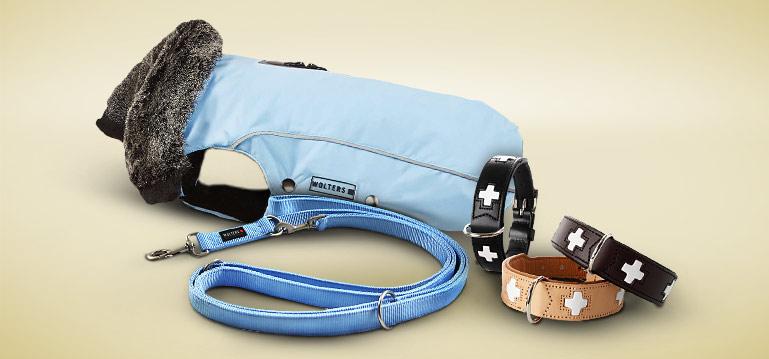 Halsbänder, Leinen und Bekleidung Hund