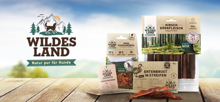 Wildes Land Snack Hund