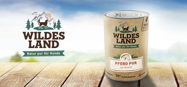 Wildes Land Single-Protein Nassfutter Hund