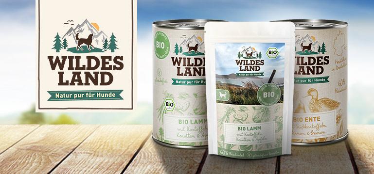 Wildes Land Bio Hundefutter