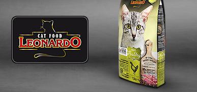 Leonardo Trockenfutter Katze