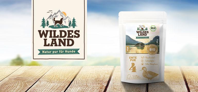 Wildes Land Bio Nassfutter