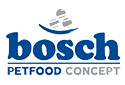 Bosch Trockenfutter und Tennisball für Hunde
