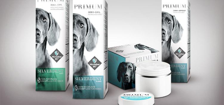 Zu den PRIMUM SilverCare Hundepflegeprodukten