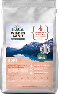 Wildes Land Soft – Truthahn & Lachs