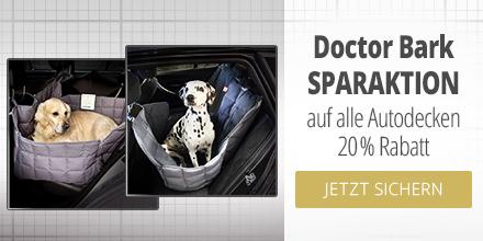 Doctor Bark 20% auf Autoschondecken