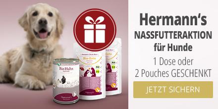 Herrmann's Nassfutteraktion für Hunde