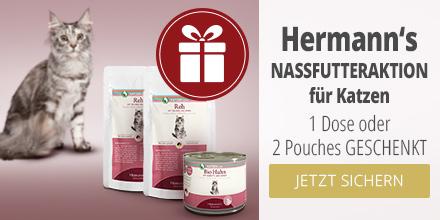 Herrmann's Nassfutteraktion für Katzen