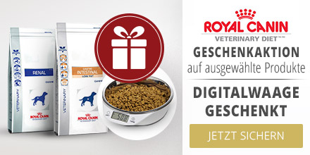 Royal Canin Veterinary Diet Aktion Digitalwaage geschenkt