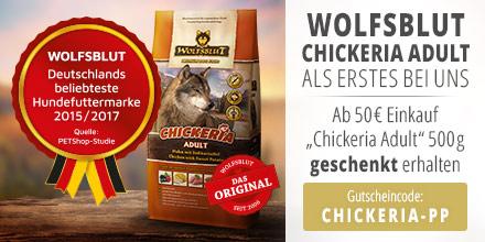 Wolfsblut Chickeria Adult 500g geschenkt