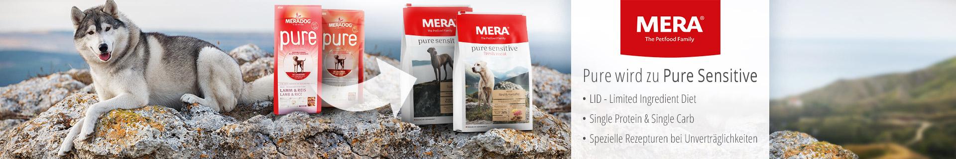 MERA Pure wird zu Pure Sensitiv