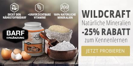 Wildcraft BARF Ergänzungsfutter Natürliche Mineralien