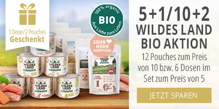 Wildes Land BIO Nassfutter Aktion