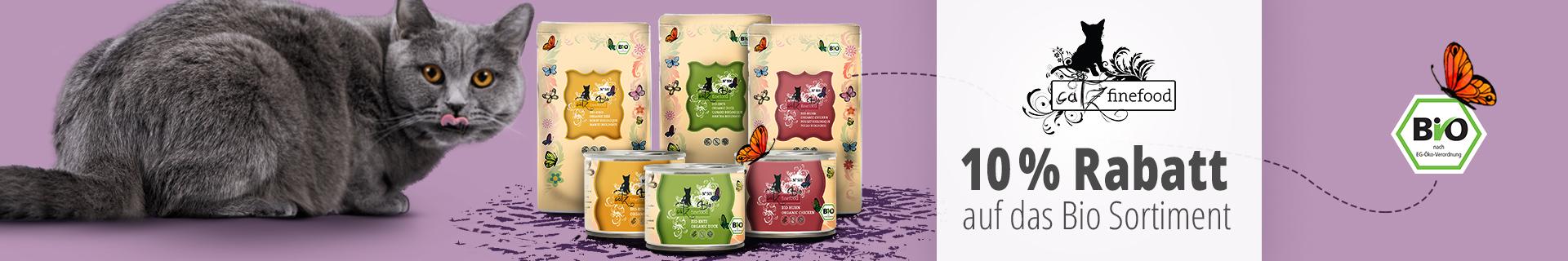 Catz Finefood 10% Rabatt auf Bio Produkte