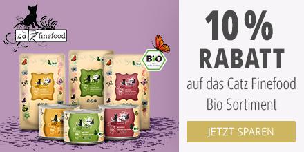 Catz Finefood Bio 10% Rabattaktion