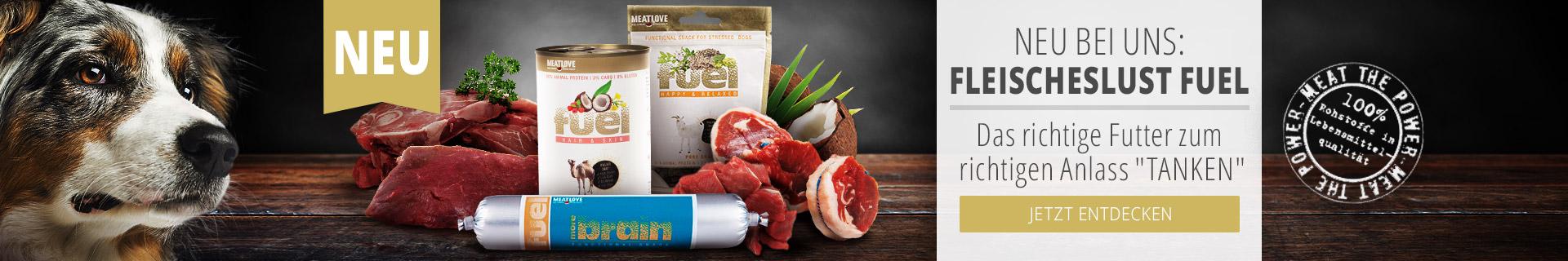 Produktneuvorstellung Fleischeslust Fuel Hundefutter