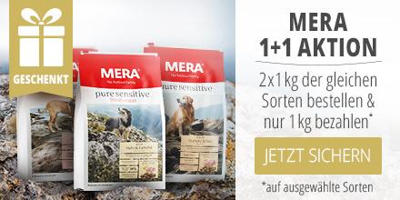 Mera Pure Sensitive 2 x 1kg der gleichen Sorte kaufen und nur 1kg zahlen