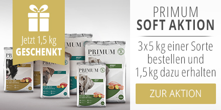 PRIMUM Soft Hundefutter Aktion mit 1,5kg Geschenkt