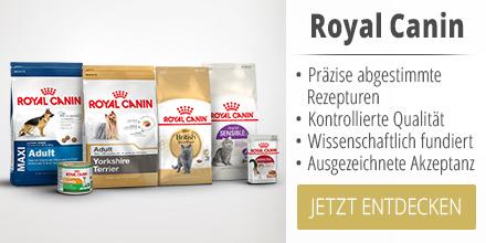 Royal Canin Hundefutter und Katzenfutter