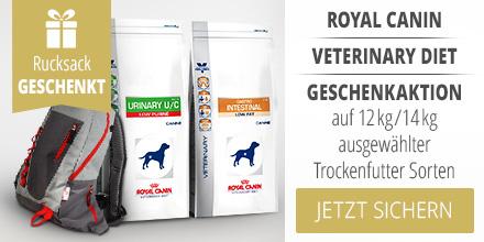 Royal Canin Veterinary Diet Trockenfutter Geschenkaktion