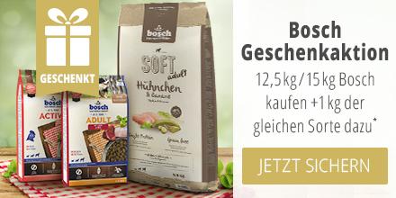 Bosch 12,5/15kg kaufen + 1kg der gleichen Sorte geschenkt erhalten