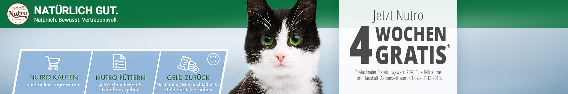 Nutro Katzenfutter Payback Aktion