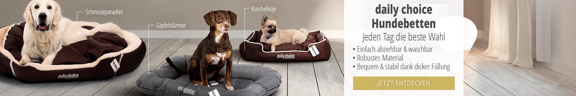 Jetzt die daily choice Hundebetten entdecken