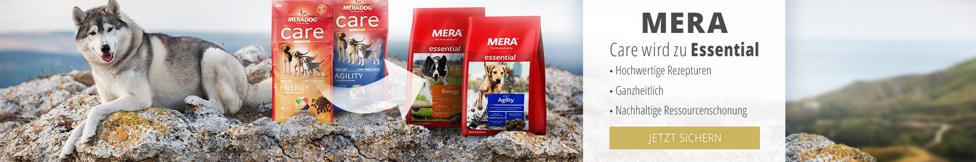Mera Care wird Essential