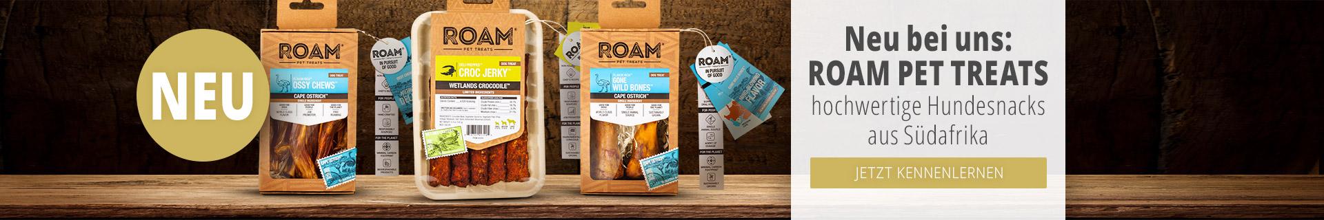 Roam Pet Treats Neuheit