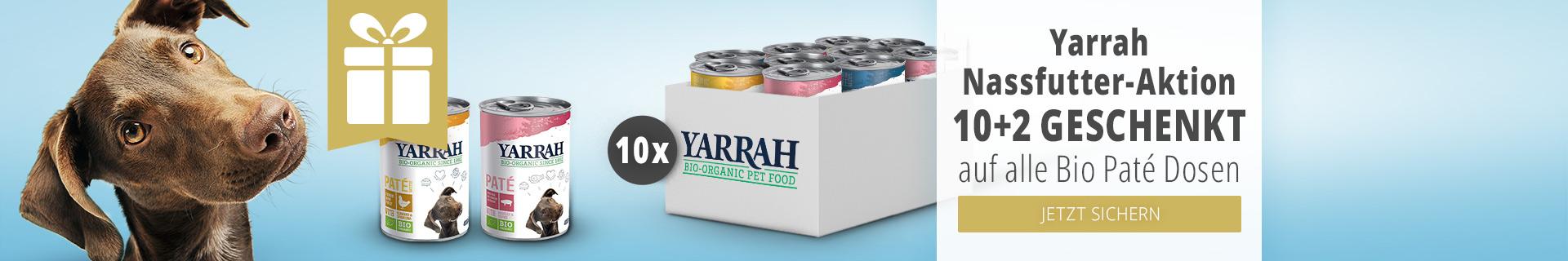 Yarrah Nassfutter Altion 10+2 geschenkt