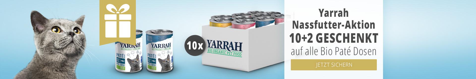 Yarrah Nassfutter Aktion 10+2 geschenkt