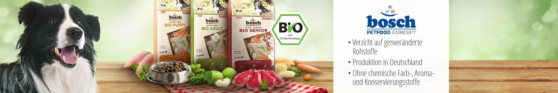 Bosch Trockenfutter Bio