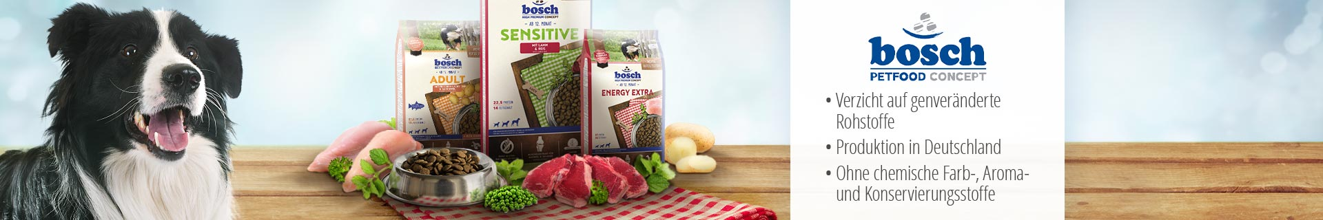 Bosch Trockenfutter High Premium Concept