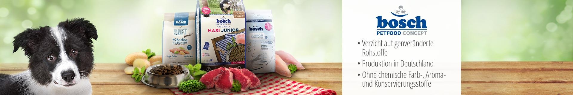 Bosch Trockenfutter Welpe Junior