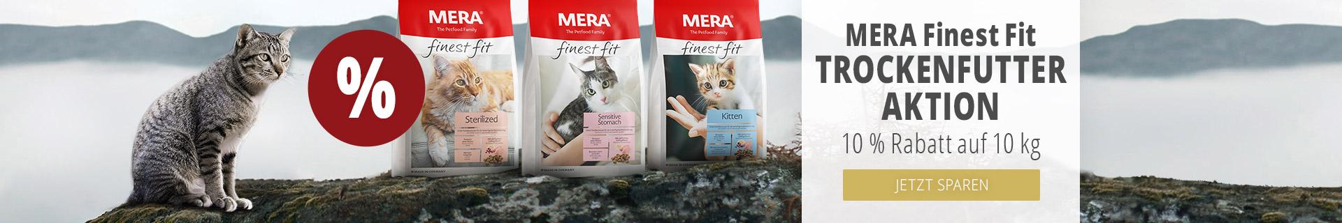 Mera Finest Fit Trockenfutteraktion 10% Rabatt auf 10kg