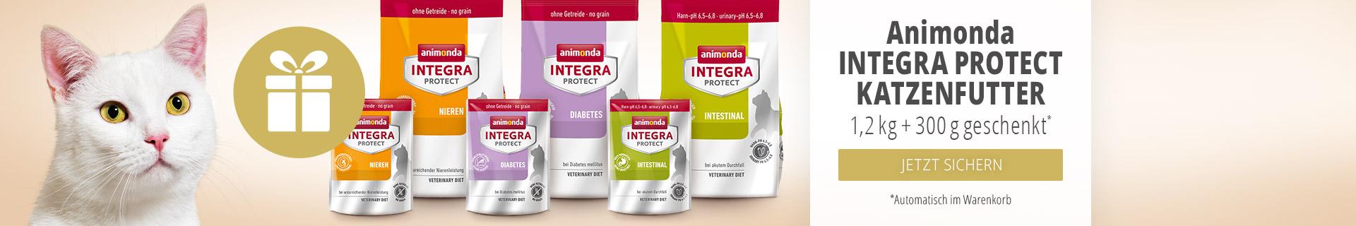Animonda Integra Protect Katzenfutter 1,2kg + 300g geschenkt