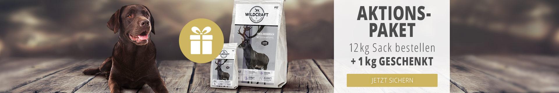 Wildcraft Trockenfutter Aktion - 1kg geschenkt